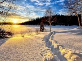 craciun peisaj iarna